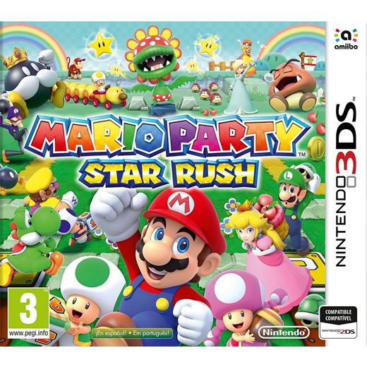 3DS MARIO PARTY : STAR RUSH