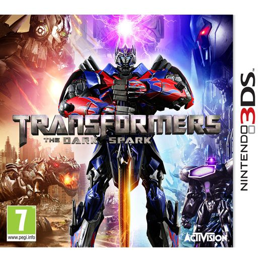 3DS  TRANSFORMERS : RISE OF THE DARK SPARK