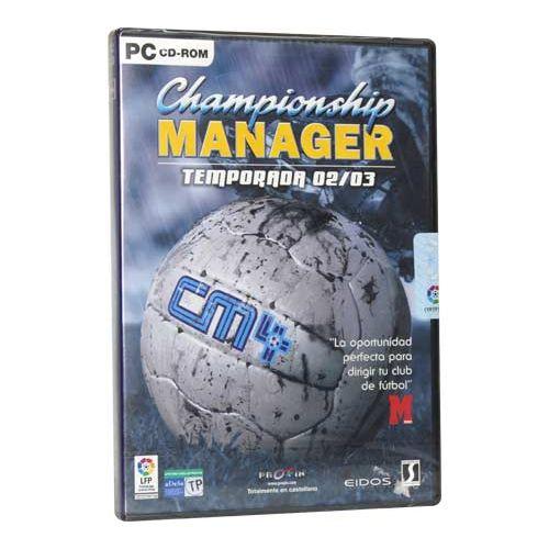 CHAMPIONSHIP MANAGER TEMPORADA 02/03