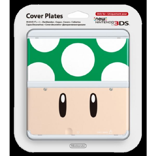 CUBIERTA PARA NEW 3DS - TOAD VERDE