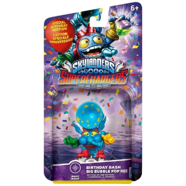 FIGURA BIRTHDAY BASH BUBBLE POP FIZZ SKYLANDERS SUPERCHARGER
