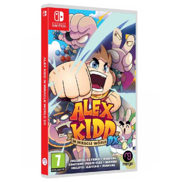 N.SWITCH ALEX KIDD IN MIRACLE WORLD DX