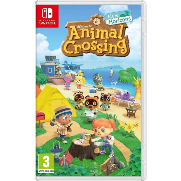 N.SWITCH ANIMAL CROSSING NEW HORIZONS