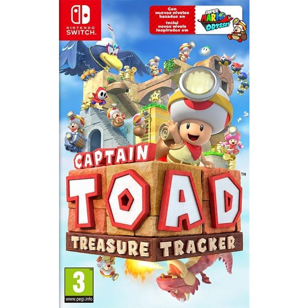 N.SWITCH CAPTAIN TOAD TREASURE TRACKER