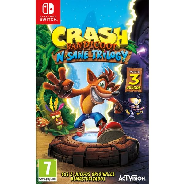 N.SWITCH CRASH BANDICOOT : N. SANE TRILOGY