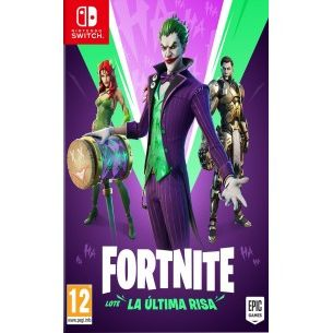 N.SWITCH FORTNITE: LOTE LA ÚLTIMA RISA