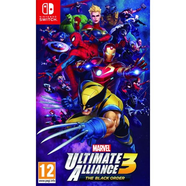 N.SWITCH MARVEL ULTIMATE ALLIANCE 3 : THE BLACK ORDER