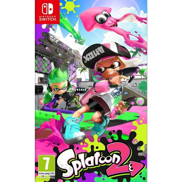 N.SWITCH SPLATOON 2