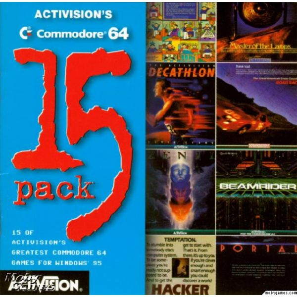 PC ACTIVISION'S COMMODORE 64 PACK 15