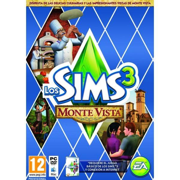 PC LOS SIMS 3 MONTE VISTA (CODIGO DE DESCARGA SIN DISCO)