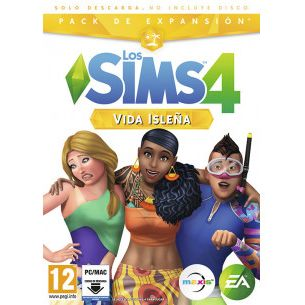PC LOS SIMS 4 - VIDA ISLEÑA - EXPANSION
