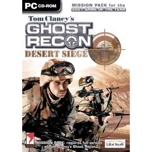 PC TOM CLANCY'S GHOST RECON DESERT SIEGE