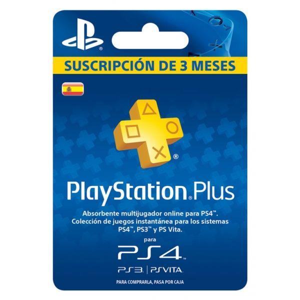PLAYSTATION PLUS SUSCRIPCIÓN 3 MESES - PS4-PS3-PSVITA