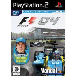 PS2 FORMULA ONE F1 2004