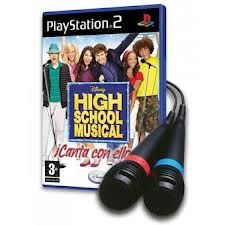 PS2 HIGH SCHOOL MUSICAL + MICROFONOS
