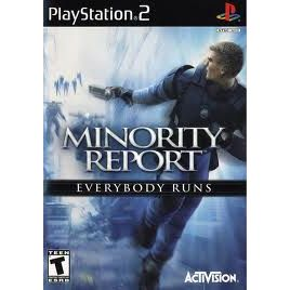 PS2 MINORITY REPORT EVERYBODY RUNS