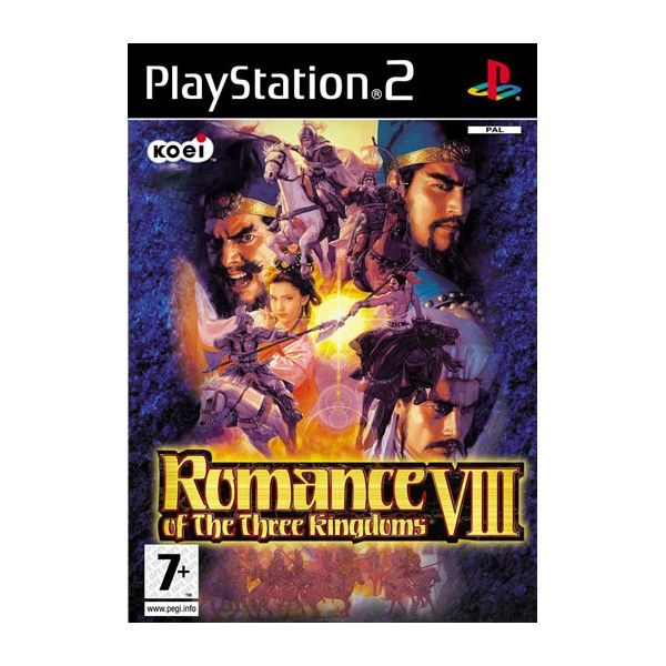 PS2 ROMANCE OF THE THREE KINGDOMS VIII