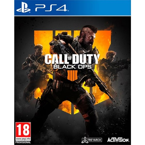 PS4 CALL OF DUTY : BLACK OPS 4