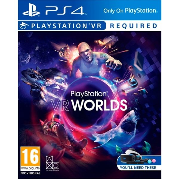 PS4-VR WORLDS VR
