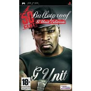 PSP 50 CENT BULLETPROOF G UNIT EDITION