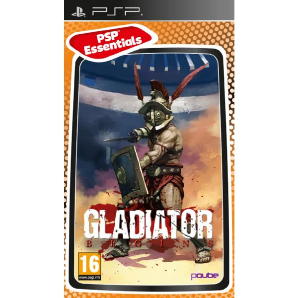 PSP GLADIATOR BEGINS - ESSENTIALS