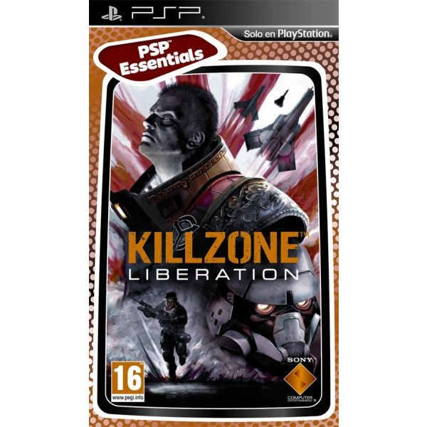 PSP KILLZONE LIBERATION - ESSENTIALS -