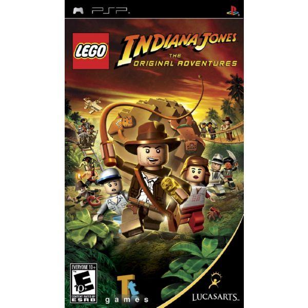 PSP LEGO INDIANA JONES THE ORIGINALS ADVENTURES