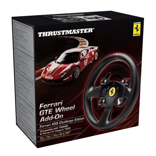 VOLANTE FERRARI GTE WHEEL ADD-ON THRUSTMASTER PC/PS3/XONE/PS4