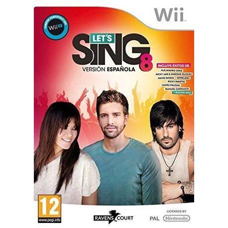WII LETS SING 8 VERSION ESPAÑOLA